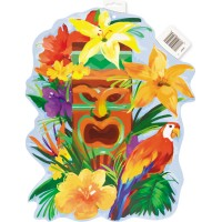 Sommerparty Cutout Wanddeko Partydeko Hawaii Luau Beachparty