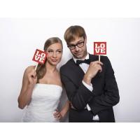Hochzeit Wedding Photo Props Art.KNP4 Partydeko