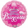 Folienballon Happy Birthday Art. 34558 Ballon Geburtstag Princess Pink