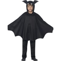 Halloween Kostüm Kinder Fledermaus Bat Cape