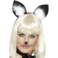 Katzen Ohren Cat Ears Halloween Fasching Karneval