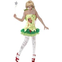 Halloween Zombie Fairy Horror Fee Art. 40060 Gr. S
