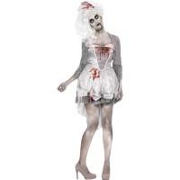 Halloween Kostüm Zombie Georgian Horror Braut