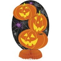 Halloween Partydeko Wabendeko Kürbis Tischdeko Art. 91187