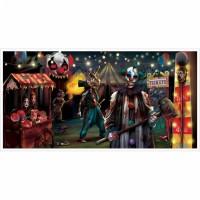 Halloween Partydeko Banner Poster Art. 120193 Creepy Carnevil