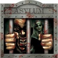 Halloween Partydeko Wandbild Zombie Asylum Art. 190271