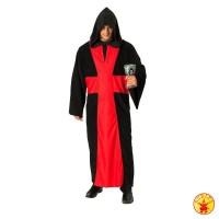 Halloween Kostüm Teuflischer Pater Geistlicher Umhang Cape