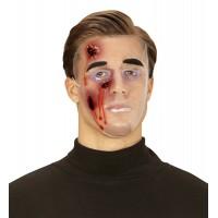 Halloween Maske mit blutigen Wunden Maske Blut Horror Zombie