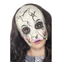 Halloween Maske Zombie Damaged Doll Puppe Art. 45594 Horror