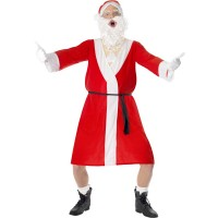 Weihnachtsmann Kostüm Sleazy Santa Weihnachten