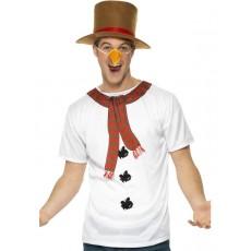 Weihnachten Schneemann Set Snowman Kit mit Hut und Nase Santa Art. 39836