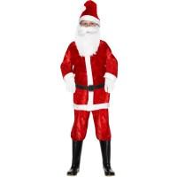 Weihnachten Weihnachtsmann Kinder 4-6 Santa Kostüm Art. 29183