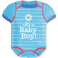 Folienballon XXL Its a Boy T-Shirt Art. 30912 Partydeko Ballon Babyparty Junge