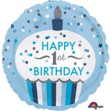 Folienballon Art. 34530 Partydeko 1. Geburtstag 1. Kindergeburtstag