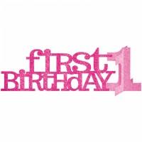 Tischdekoration 1. Geburtstag Kind Partydeko Rosa Tischdeko