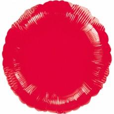 Folienballon Rund Rot Art.20584 Partydeko Ballon Hochzeit Babyparty