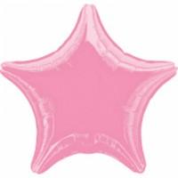 Folienballon Stern Rosa Art.12804 Partydeko Ballon Geburtstag