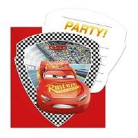 Einladungskarten Cars Kindergeburtstag Partydeko Geburtstag Disney