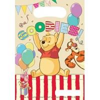6 Partytüten Winnie Pooh Kindergeburtstag Partydeko Geburtstag Disney