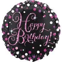 Folienballon Happy Birthday Art. 33782 Partydeko Geburtstag Ballon