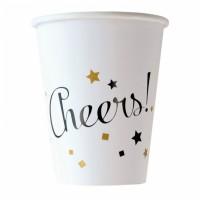 Silvester Partydeko Becher Cheers