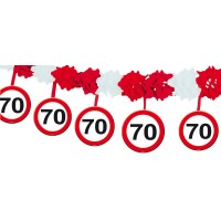 Verkehrsschild Teller Zahl 16