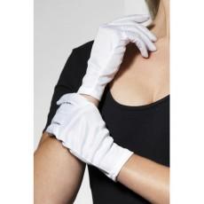 Handschuhe Weiss Art. 0190 Kostümzubehör Fasching Karneval
