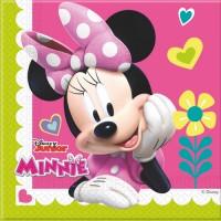 Minnie Mouse Servietten Disney Partydeko Kindergeburtstag