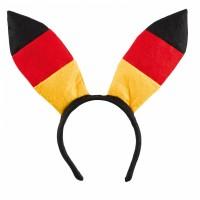 Deutschland Haarreifen Hasenohren Partydeko Fussball EM WM