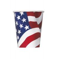 USA Becher Partydeko Amerika Fussball EM WM