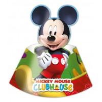 Mickey Mouse Partyhüte 6 Stück