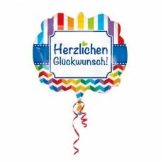 Folienballon XXL Jumbo Happy Birthday Art.35832 Partydeko Ballon