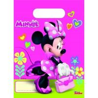 Minnie Mouse Tüten Disney Partydeko Kindergeburtstag