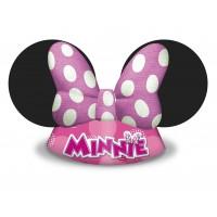 Minnie Mouse Kronen Hüte 6 Stück Disney Partydeko Kindergeburtstag