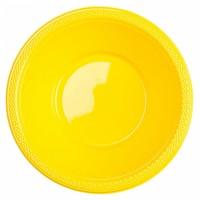 Schale Plastik Gelb Partydeko Geburtstag Color