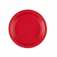 Teller klein 18cm Rot Partydeko Geburtstag Color Red