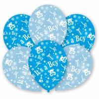 Luftballon´s it´s a Boy Blau
