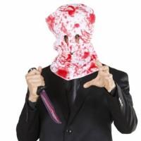 Halloween Masken Blutige Horror Kapuzen Maske
