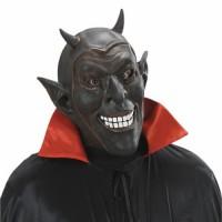 Halloween Masken Teufel Lachend Schwarz Horror Zombie