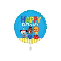 Folienballon Happy Birthday Zirkus Art.35698 Partydeko Ballon Geburtstag