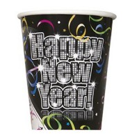 Silvester Partydeko Becher Countdown To Happy New Year