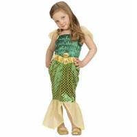 Meerjungfrau Nixe Arielle Kostüm Mädchen Art.4861 Fasching Karneval