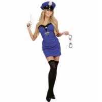 Kostüm Polizistin Police Girl Cop Fasching Berufe