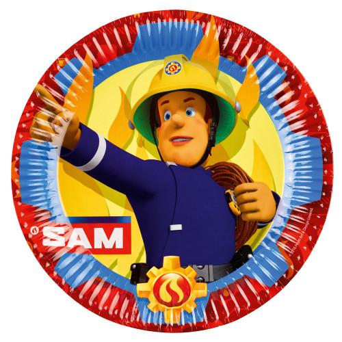 Feuerwehrmann Sam Teller Partydeko Fireman Sam Kindergeburtstag