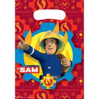 Feuerwehrmann Sam Tüten Partydeko Fireman Sam Kindergeburtstag