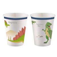 Dino Dinosaurier Becher Partydeko Kindergeburtstag