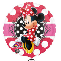 Minnie Mouse Folienballon Art.30647 Disney Partydeko Kindergeburtstag
