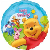 Winnie Pooh Folienballon Disney Partydeko Kindergeburtstag Ballon
