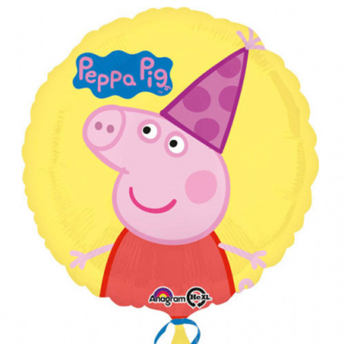 Peps Pia Wutz Folienballon Partydeko Kindergeburtstag Ballon