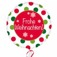 Folienballon Weihnachten Art. 32866 Frohe Weihnachten Ballon